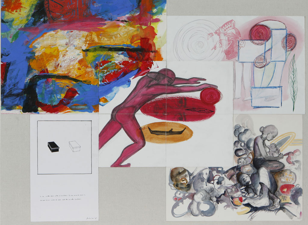 Zakaria - Henk - Rienke - Antoine - Kongphat
